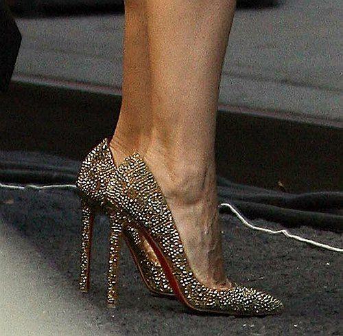 louboutin chaussure de vair
