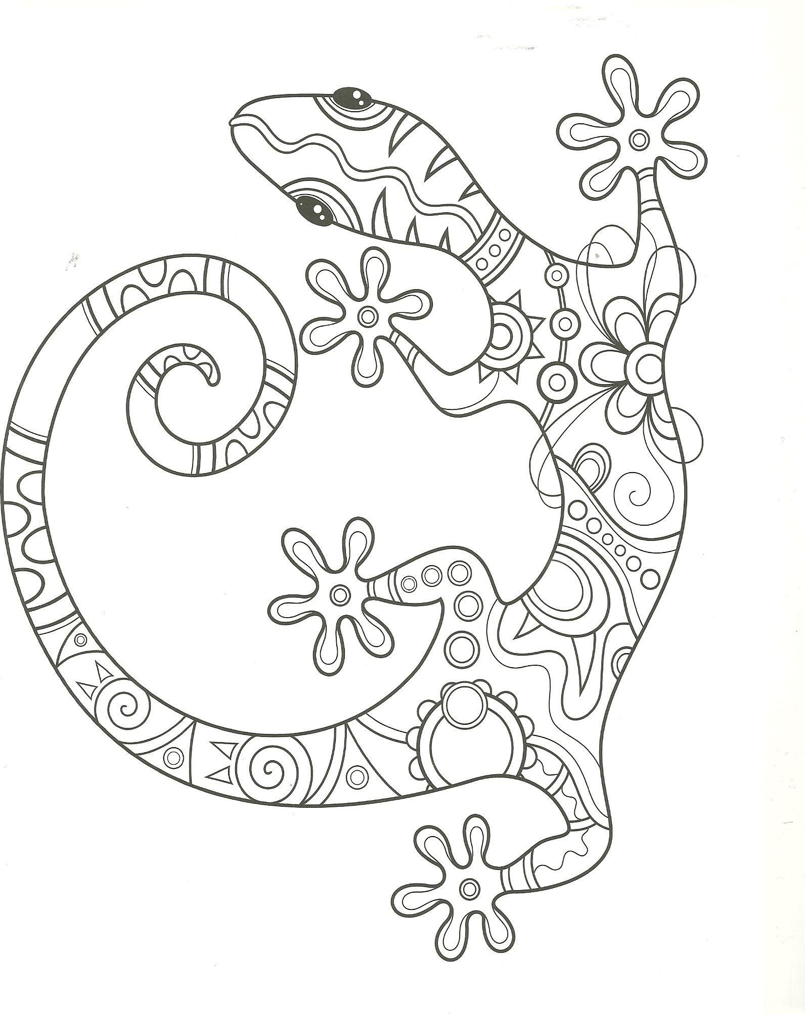 16 Free Printable Colouring Pages Lizards In 2020 Mandala Coloring Pages Mandala Coloring Free Coloring Pages