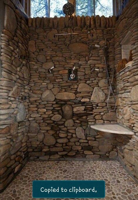 Amazing Rockwall Shower