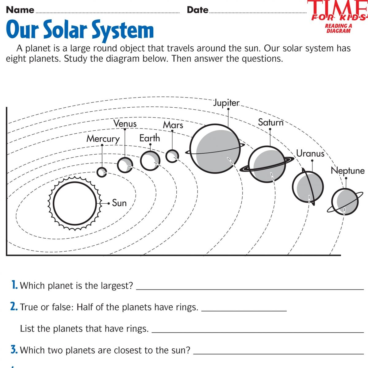 Space Printables | TIME For Kids | {THIRD GRADE} | Pinterest ...