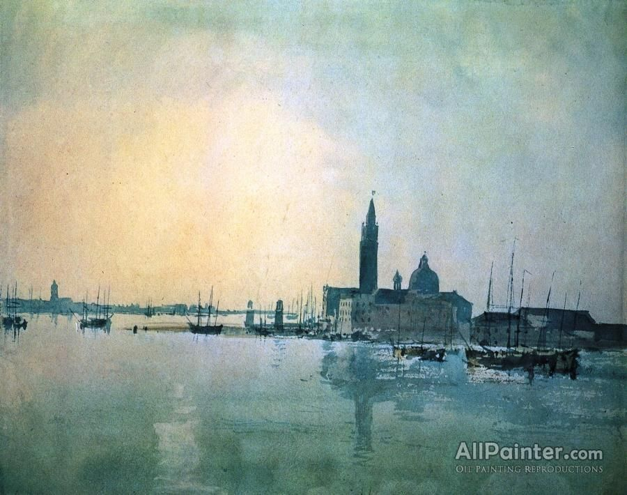 Joseph Mallord William Turner Venice San Giorgio Maggiore In The