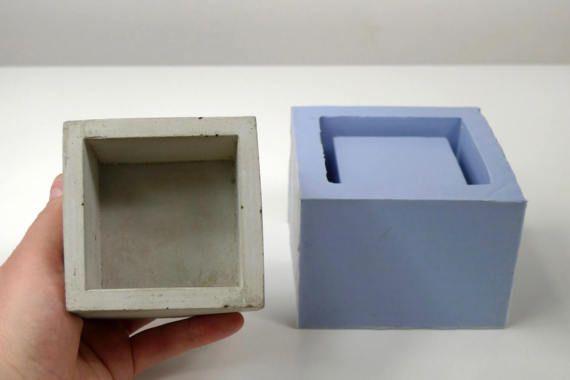 Concrete Planter Mold Geometric Concrete Mould Silicone Concrete