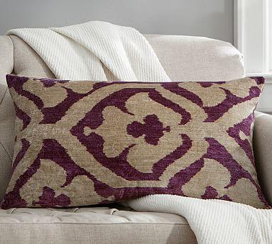 Brooke Printed Velvet Pillow Cover #potterybarn