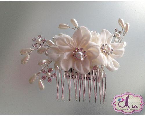 Adornos de cristal para el pelo buscar con google mis - Como hacer adornos para el pelo ...