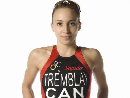 Kathy Tremblay Woman Triathlon - we interviewed her in
