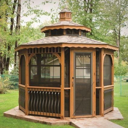 pin by gazebo kings on garden gazebos pinterest. Black Bedroom Furniture Sets. Home Design Ideas