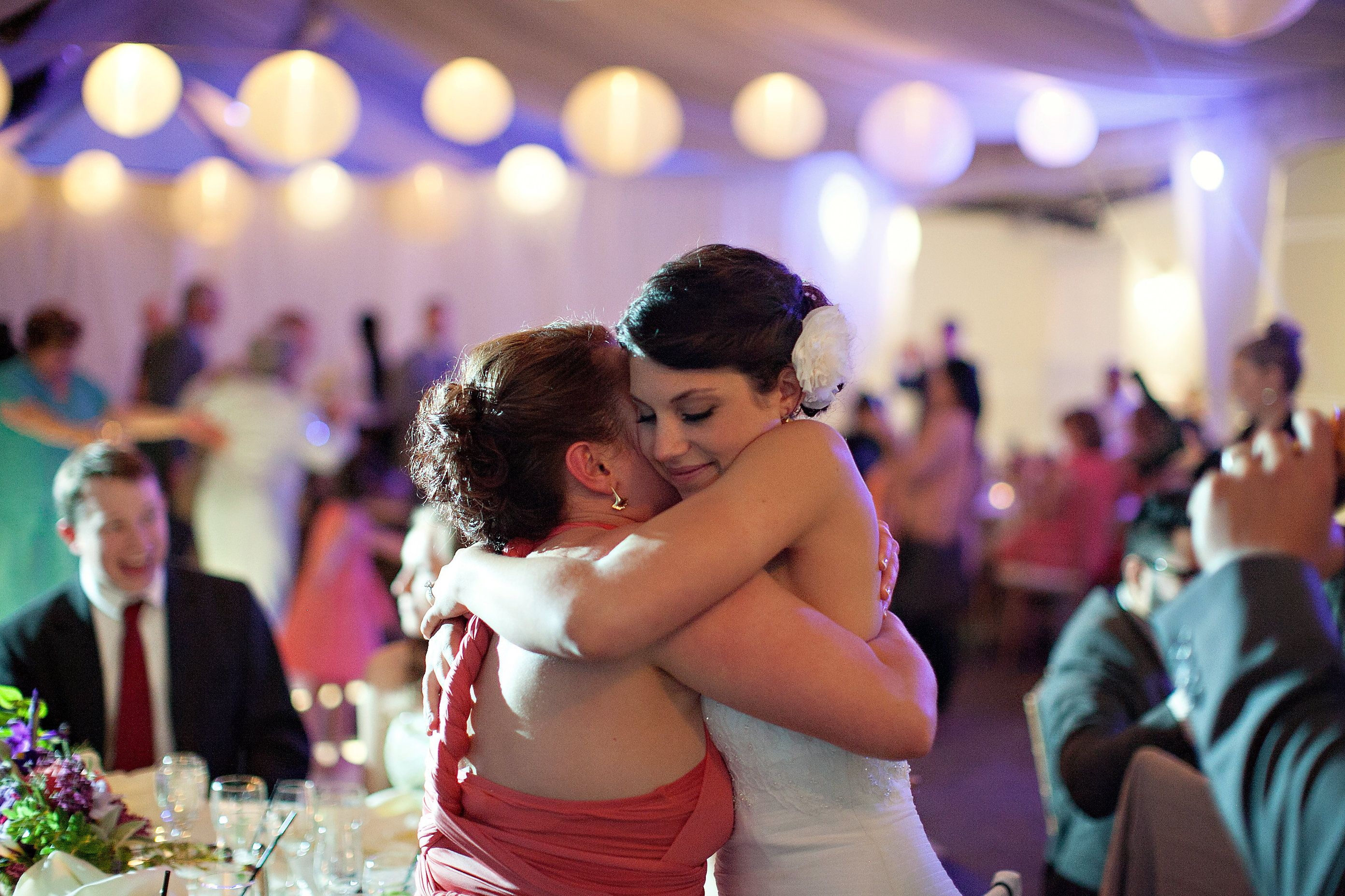 Special moment captured during the reception #gardentent #parktavern #love