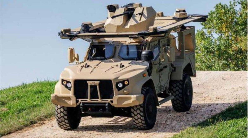 Oshkosh Defense Jltv >> Oshkosh Defense Jltv W Rafael Samson Dual 30mm M230lf Rws