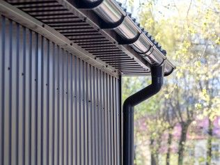 Gutters For Small Businesses And Commercial Buildings Gutters Cleaning Gutters Rain Gutters