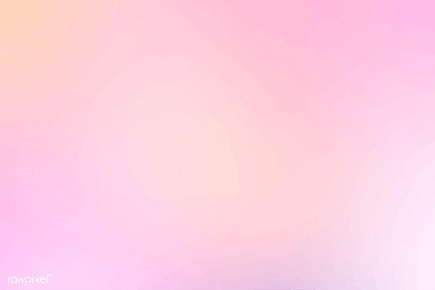Download Premium Vector Of Pastel Pink And Orange Background Vector 597512 Pink Wallpaper Iphone Wallpaper Pink Background