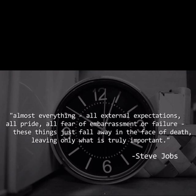 Awesome Steve Jobs quote