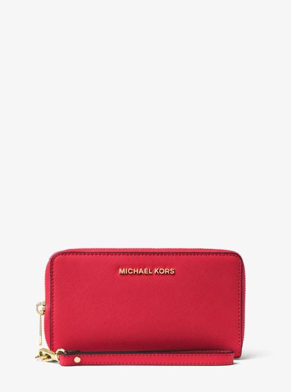 b631b4c442c65e Large Smartphone Wristlet by Michael Kors | rewards | Michael kors ...