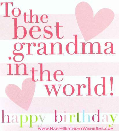 Happy Birthday Wishes Quotes Images Pictures Grandmother