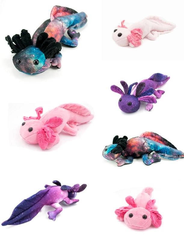 Axolotl Stuffed Animal Sewing Pattern - Digital Download | Stitchery ...