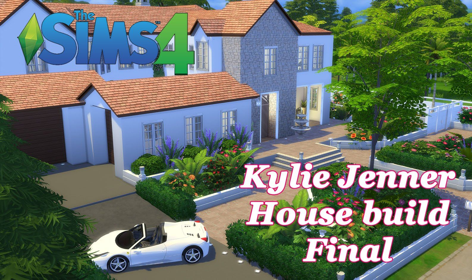 The Sims 4   Kylie Jenner House Build CC   House Tour  Final. The Sims 4   Kylie Jenner House Build CC   House Tour  Final