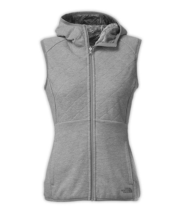 Women's reversible caroluna vest | North face women, Fleece