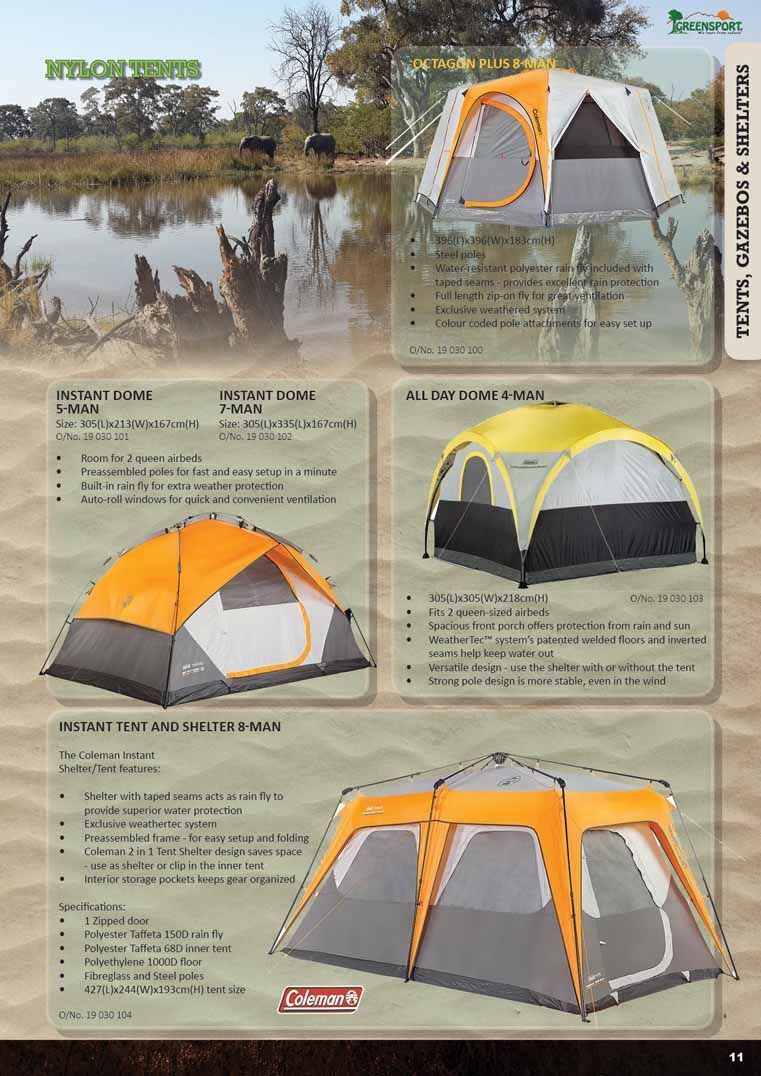 C&ing accessories · Get your Coleman tents ... & Get your Coleman tents and other camping equipment at www.cymot ...