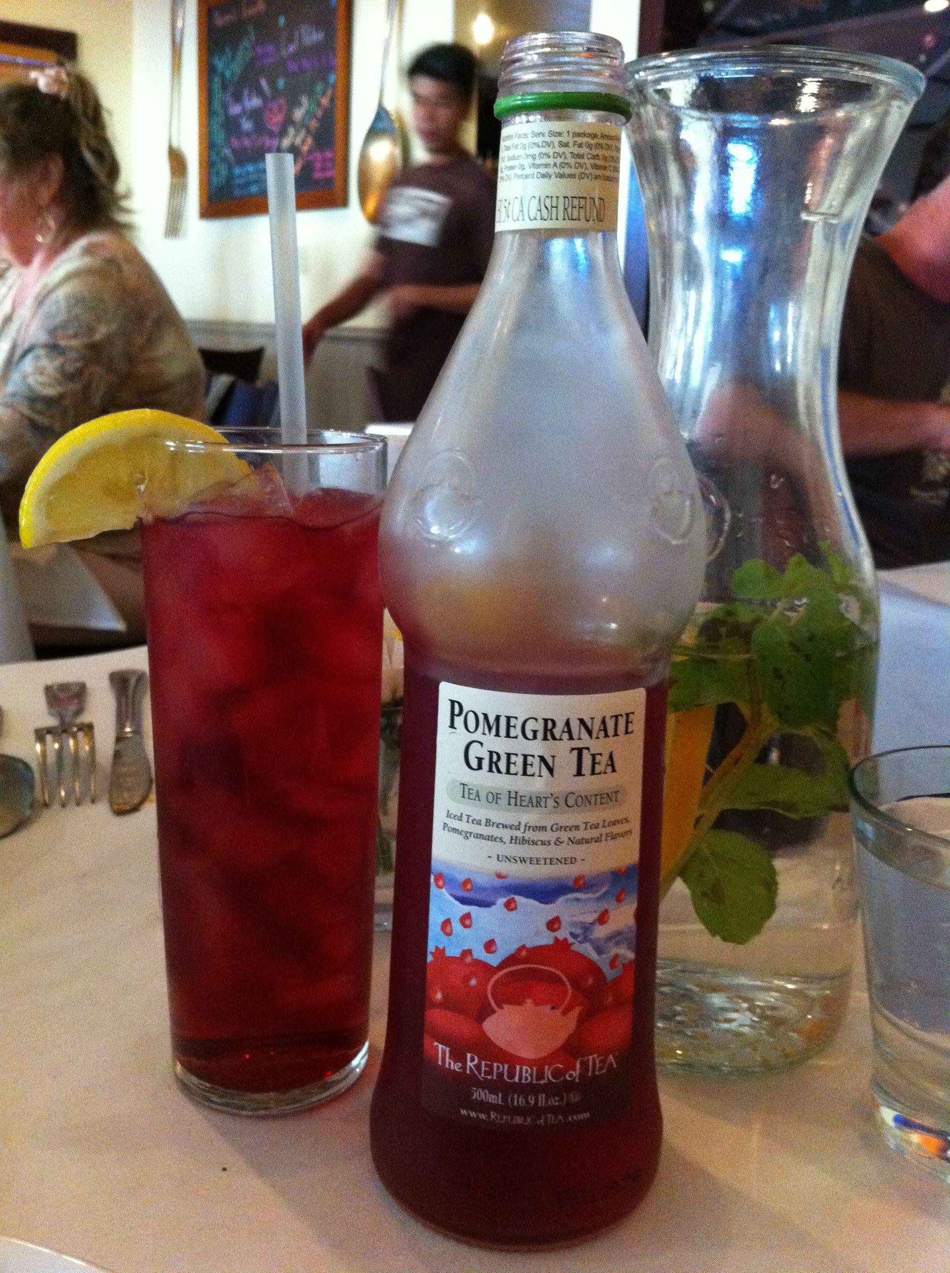 Pomegranate Green Tea From Nonni S Bistro Pomegranate Green Tea Pomegranate Green Tea