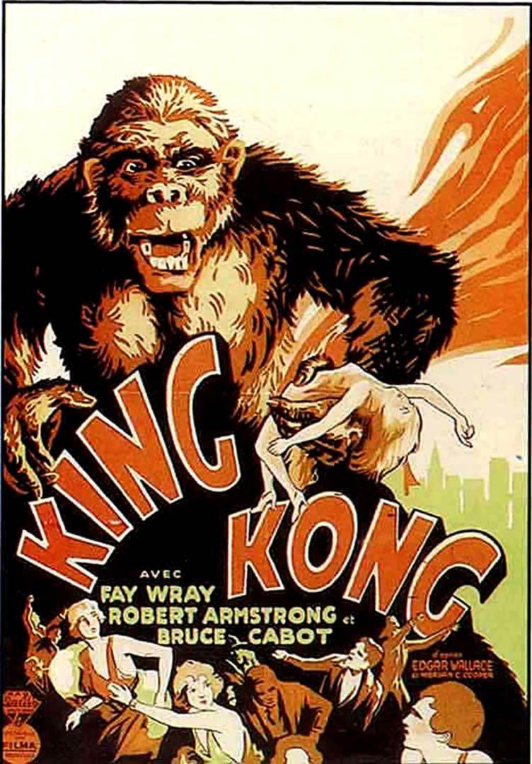 King Kong Vintage 1930s King Kong King Kong 1933 Movie