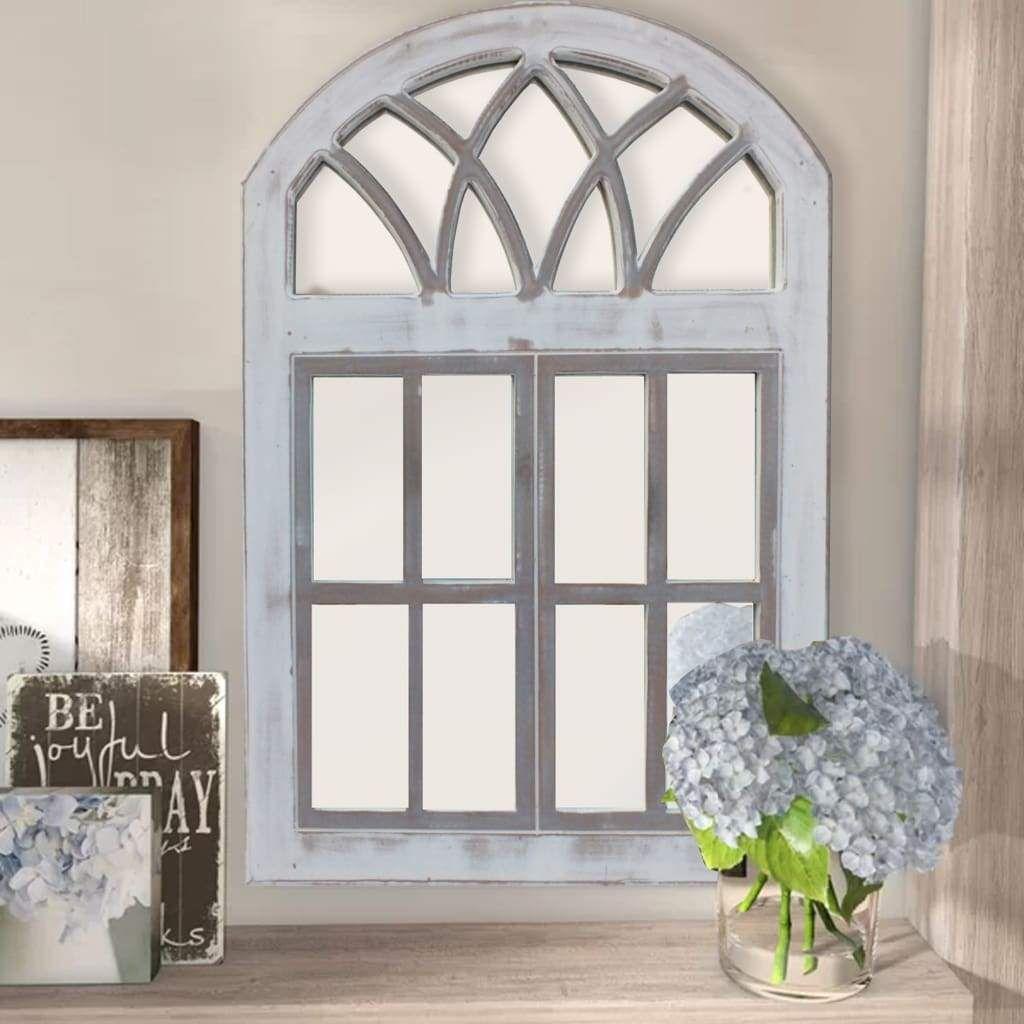 Antiqued White Window Pane Arch Plaque Kirklands Arched Wall Decor Window Frame Decor Frame Wall Decor