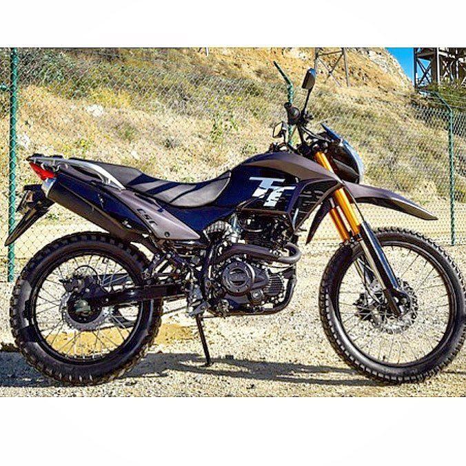 Zongshen/CSC TT250 based on honda's NXR 150 Bros Motos