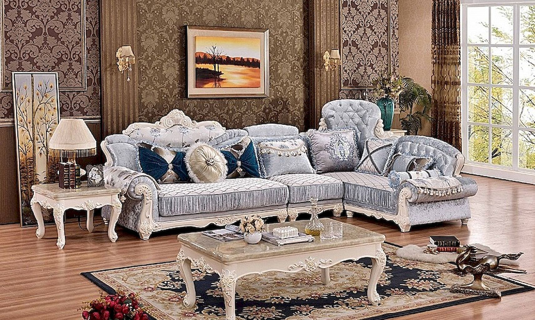 65 incredible french country living room decor ideas