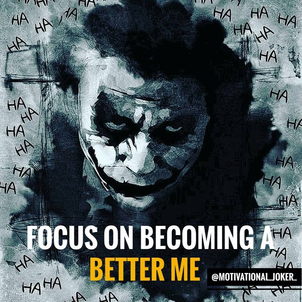 Focus on becoming........... For more Motivational and Realistic Quotes  Follow  @motivational_joker_   Follow  @motivational_joker_   Follow  @motivational_joker_  ____________________________________________________________________________________________   Turn on POST NOTIFICATION  ____________________________________________________________________________________________ #Joker #HeathLedger #ConradVeidt #CesarRomero #JackNicholson #MarkHamill #JaredLeto #killingjoke #themanwholaughed…