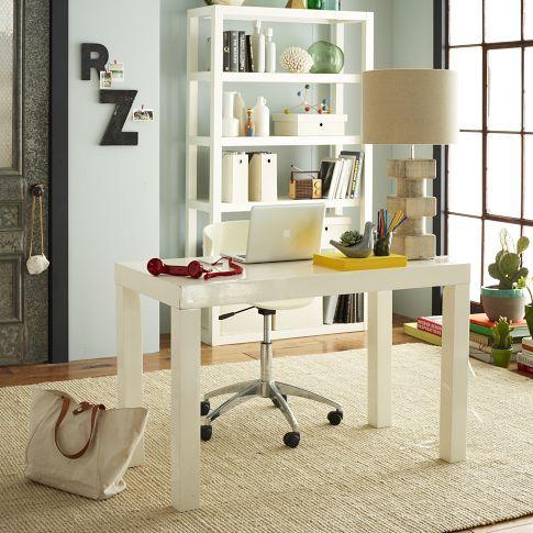desk. Like this in black