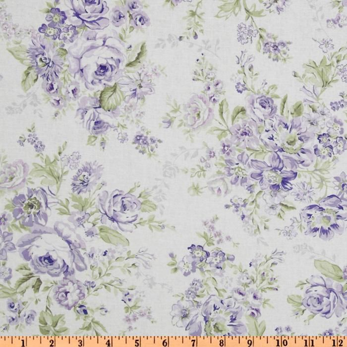 Fine Treasures By Shabby Chic Wildflowers Large Floral Lilac Home Interior And Landscaping Synyenasavecom