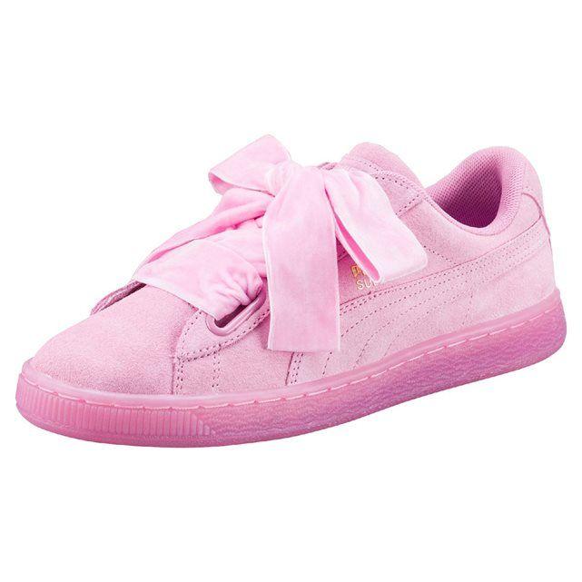 puma suede basket heart sneakers