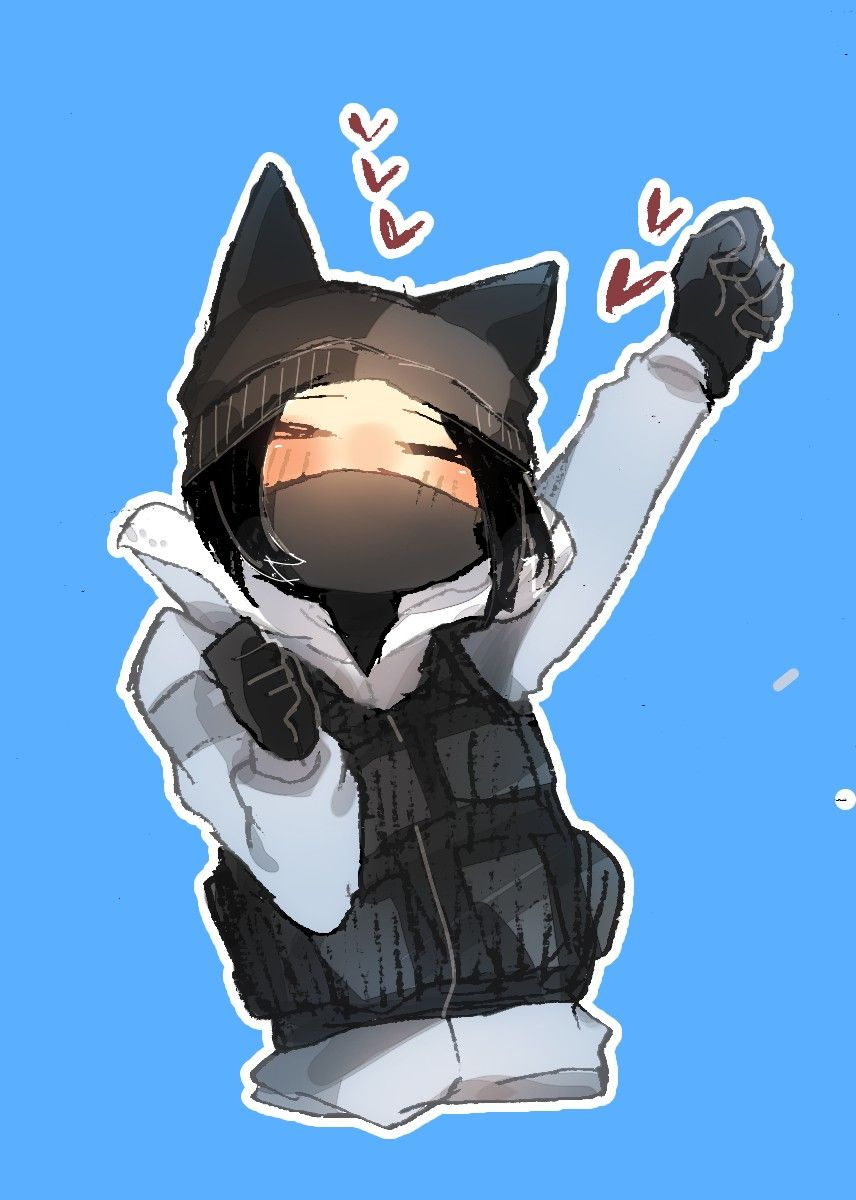 Frost Is A Cat Rainbow Six Siege Anime Rainbow Six Siege Art