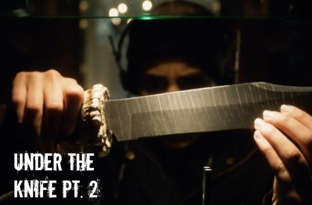 """Look! It's another episode about stupid knives! 