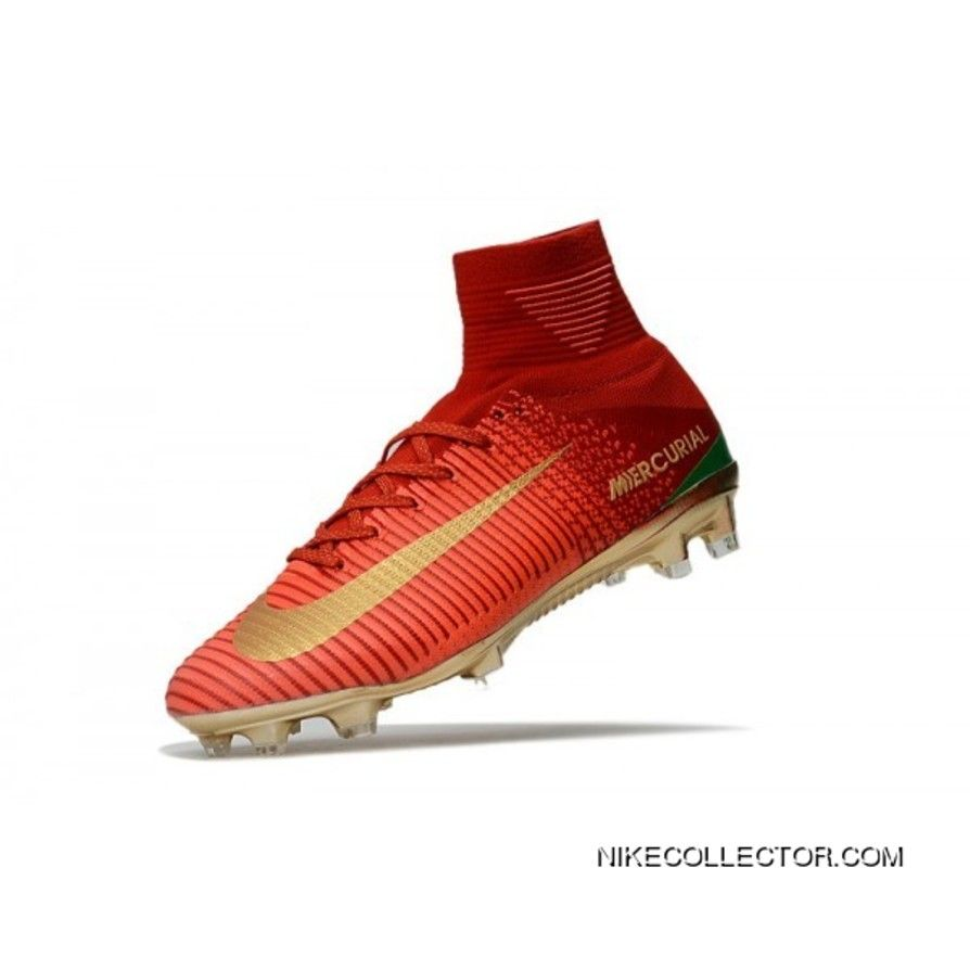 huge discount 54e7a afa1a Soccer Boots - Nike Mercurial Superfly 5 Fg - Red Gold ...