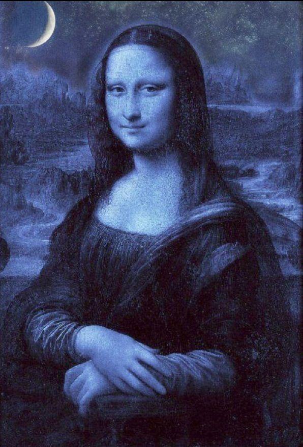 Mona Lisa Blue Mona Lisa Mona Lisa Smile Mona Lisa Parody