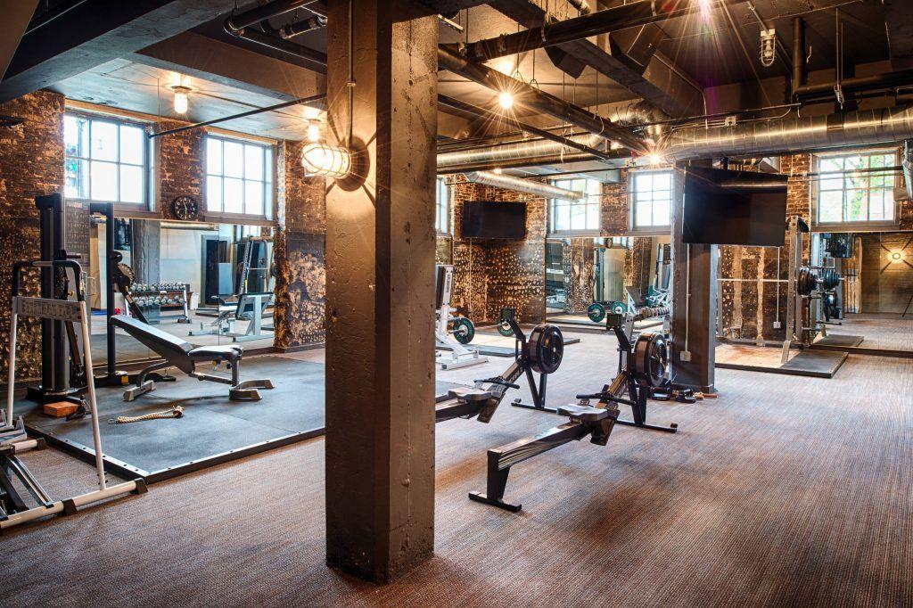 15 Best Industrial Home Gym Ideas Huis Interieur Interieur Huis