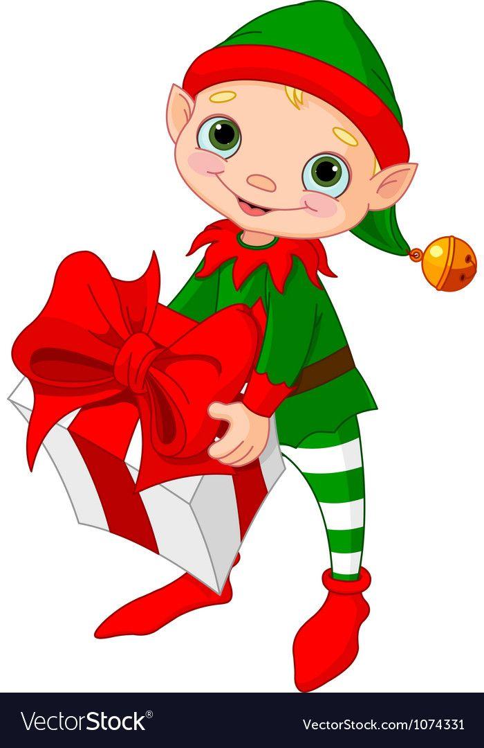 45+ Cute Elf On The Shelf Clipart