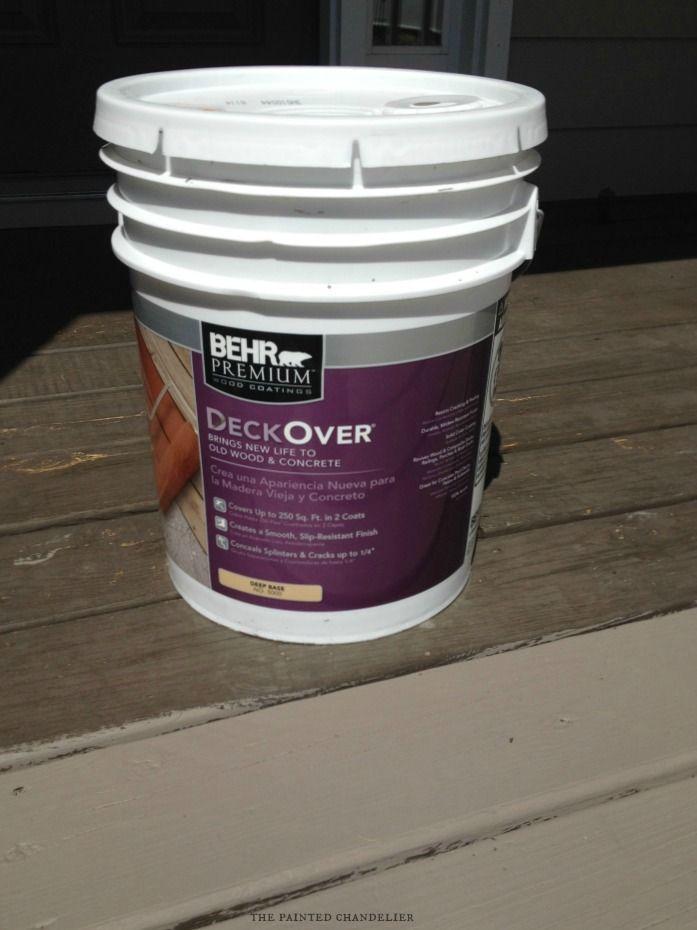 Behr Deckover Product Review My Paint Colors Deck