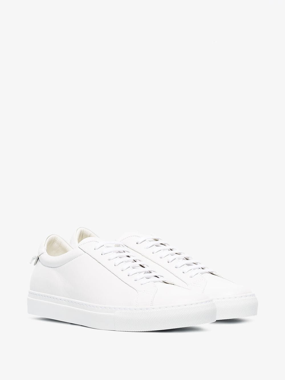 Sheep Leather Sneakers In 100 White