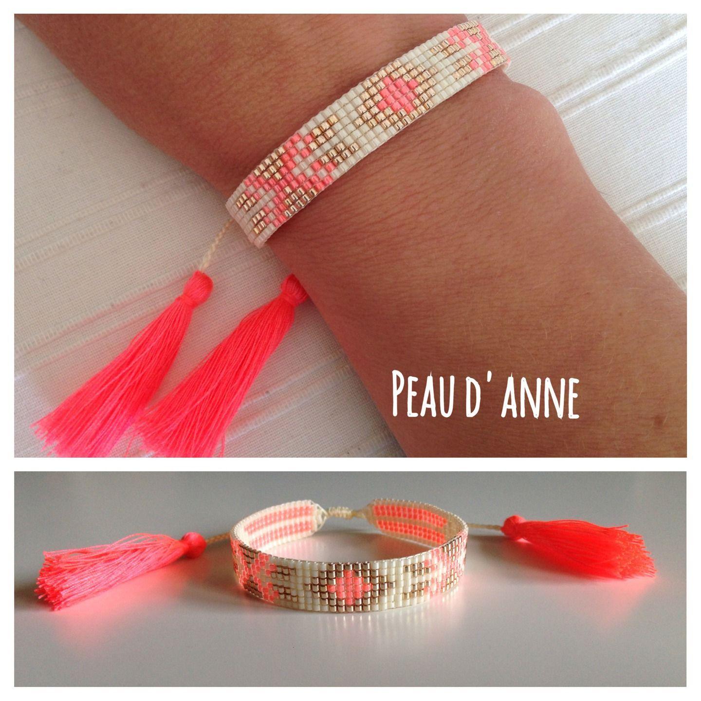 fabriquer un bracelet en perle de rocaille bijoux la mode. Black Bedroom Furniture Sets. Home Design Ideas