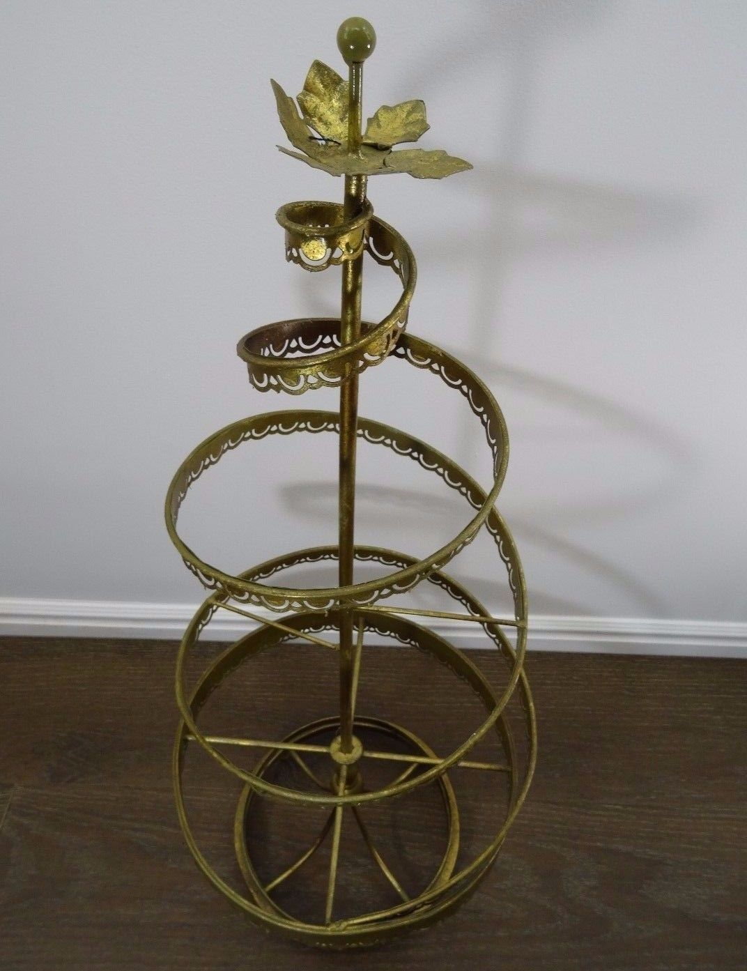 Details About Vintage Christmas Spiral Tree Freestanding Decoration