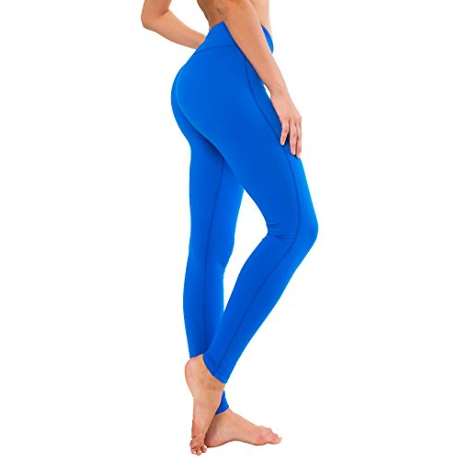 45ac649746e Queenie Ke Women Power Stretch Plus Size High Waist Yoga Pants Running  Tights     Learn more by visiting the image link. (This is an affiliate  link)