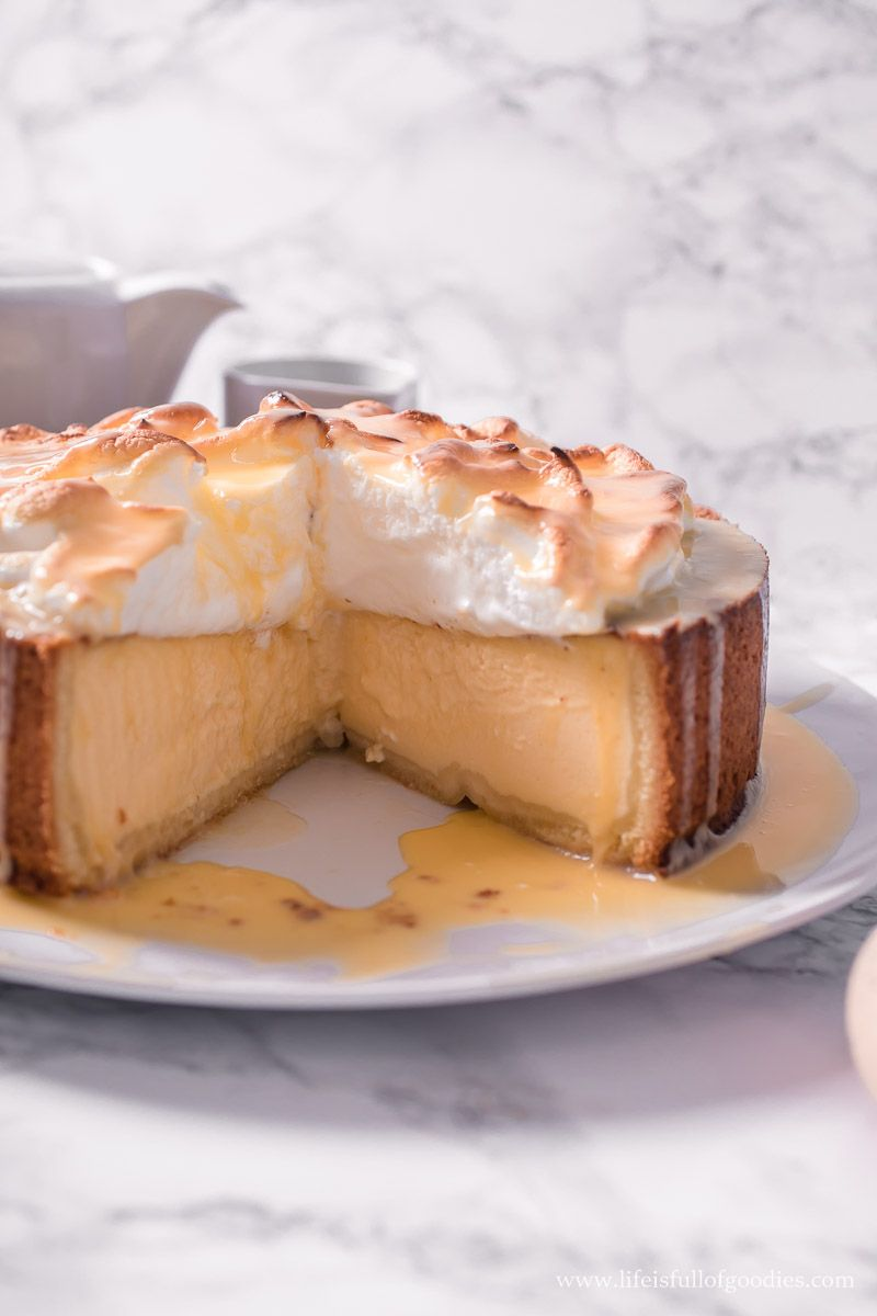 Eierlikör San Sebastian Cheesecake mit Boden - Life Is Full Of Goodies