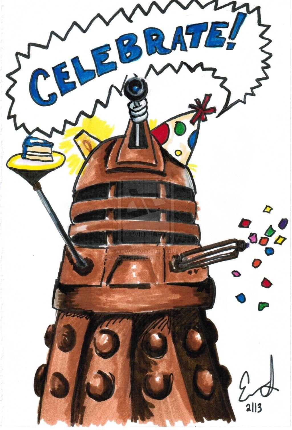 Creative Celebrate Doctor Who Birthday Card For Your Birthday Card – Doctor Who Birthday Card