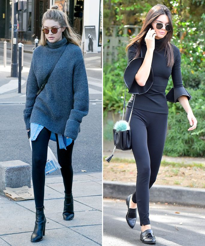 How to Wear Leggings Like a Celebrity This Winter acbb307de7cb1