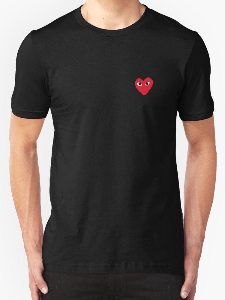 67b8b19e7 Comme des Garçons PLAY New T-Shirt Men s Black  fashion  clothing  shoes   accessories  mensclothing  shirts (ebay link)