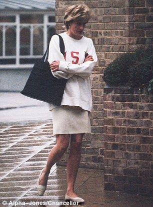 Princess Diana's 'USA' sweatshirt goes up for sale