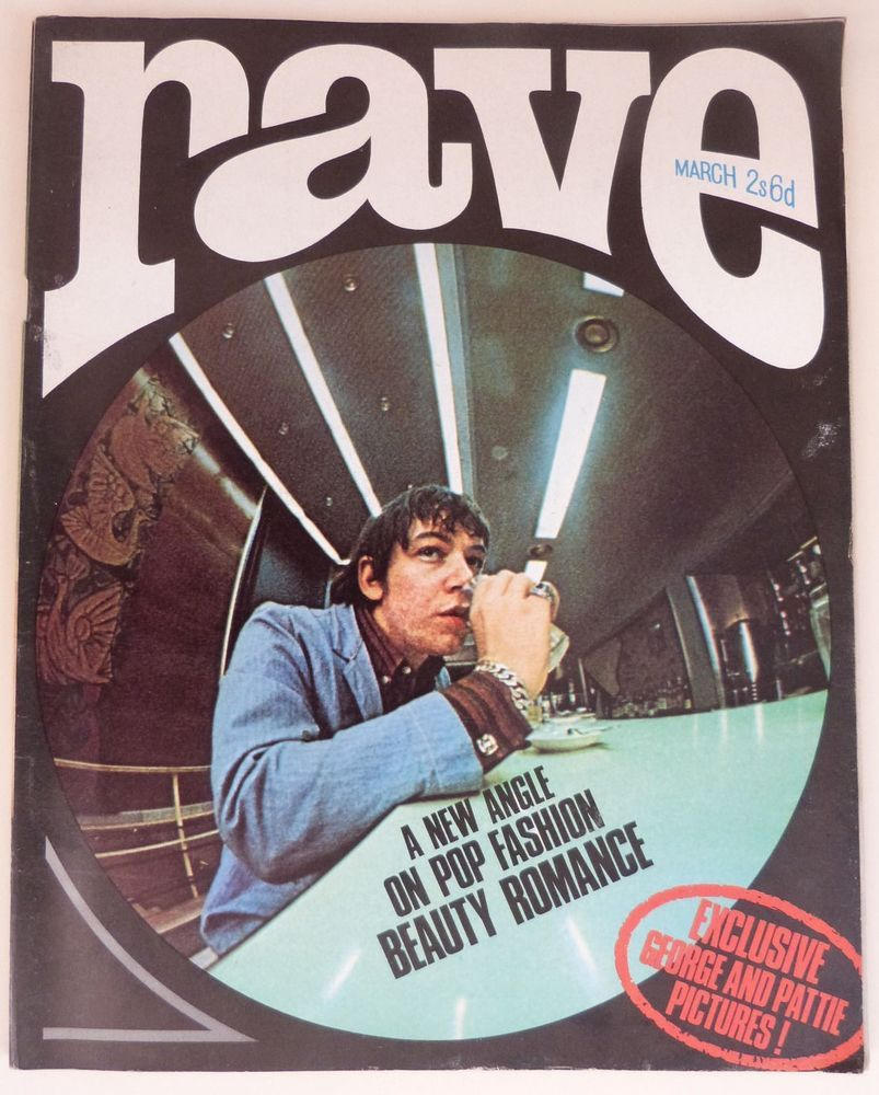 Beatles Kinks Animals Who Steve Winwood Walker Brothers Rave magazine March 1966
