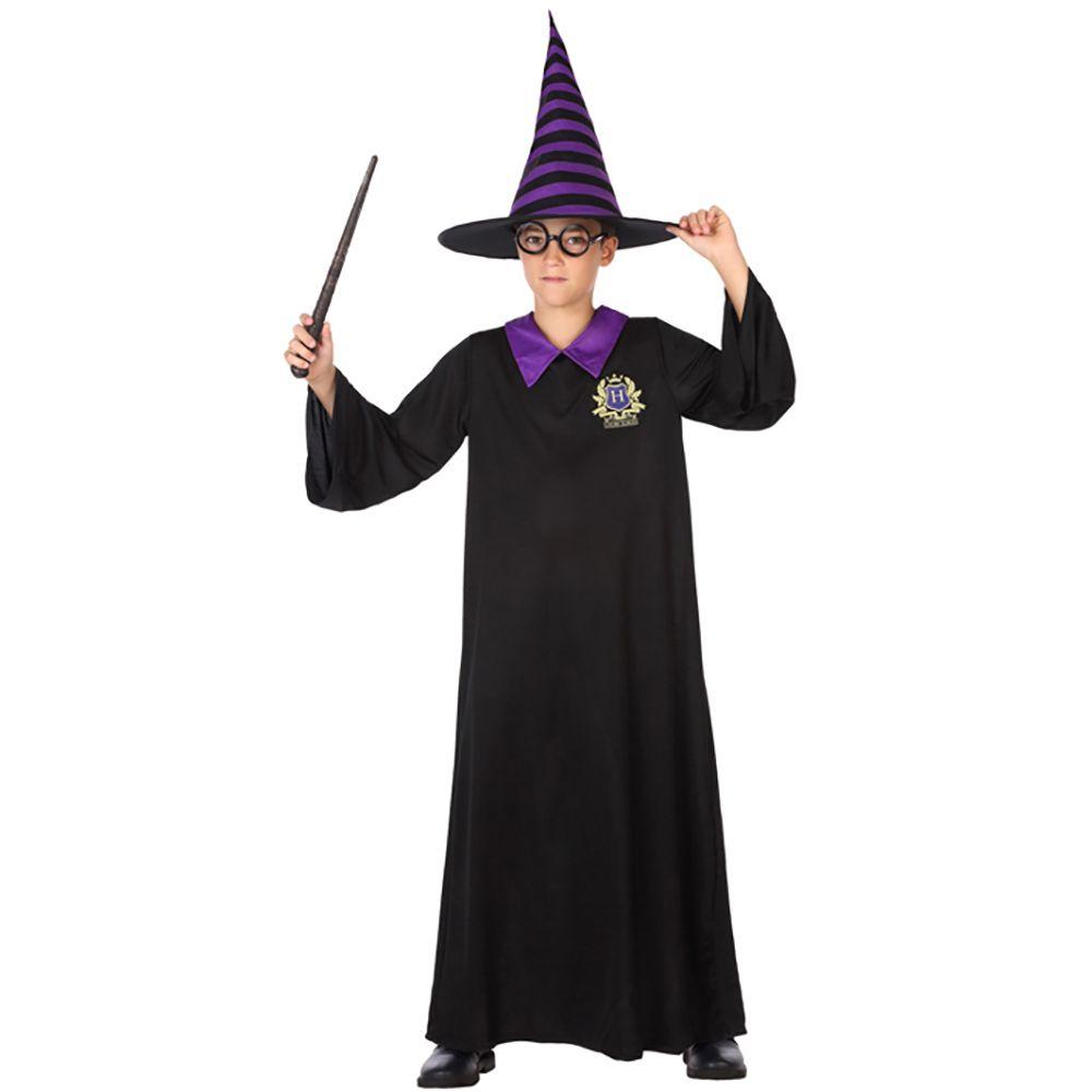 ec08dc2bf Disfraz Mago Negro y Púrpura Infantil en 2019 | Disfraces de Magos y ...