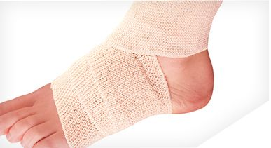 3m Us How To Wrap A Sprained Ankle Or Wrist Sprained Ankle