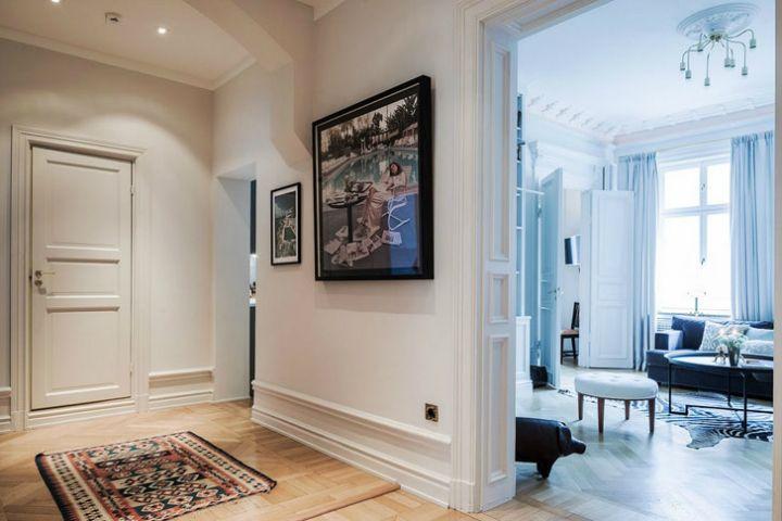 Pariser Flair In Einer Schwedischen Wohnung Wohnzimmer Wohnung